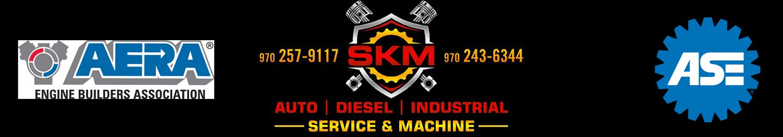 SKM header bar